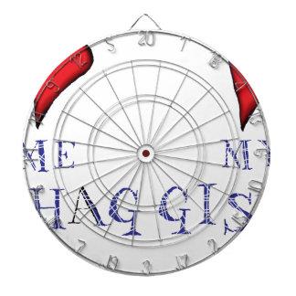 love me love my haggis dartboard