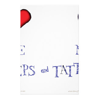 love me love my neeps and tatties stationery