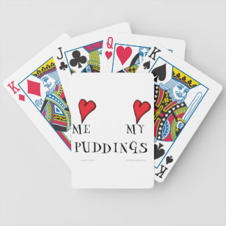 love me love my puddings, tony fernandes poker deck