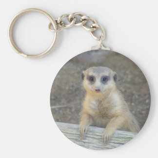 Love Me Meerkat Keychain