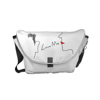 Love Me Messenger Bag