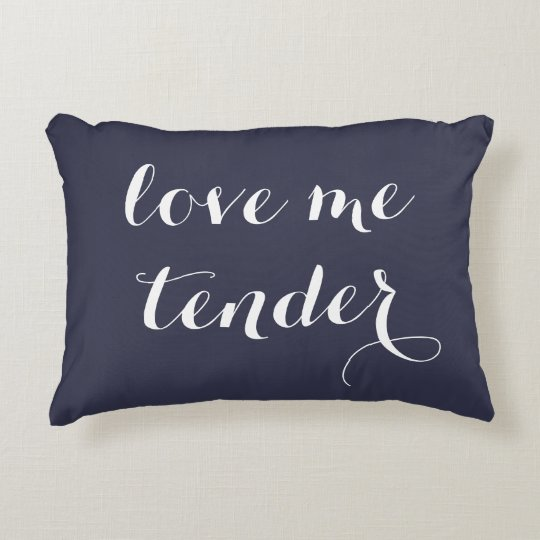 Love Me Tender Lumbar Accent Pillow