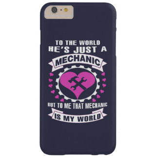 Love Mechanic Barely There iPhone 6 Plus Case