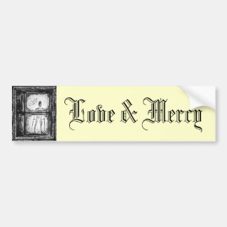 Love & Mercy Bumper Sticker