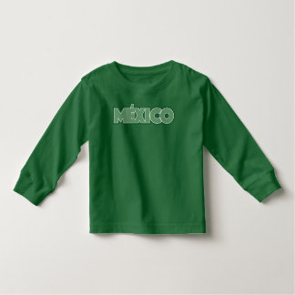 LOVE MEXICO TODDLER T-SHIRT