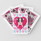 Love Micro Pigs Bicycle Playing Cards