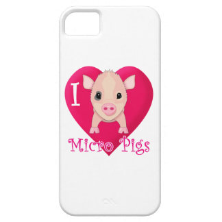 Love Micro Pigs Case For The iPhone 5