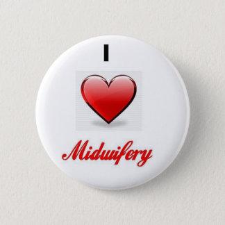 love midwifery 2 inch round button