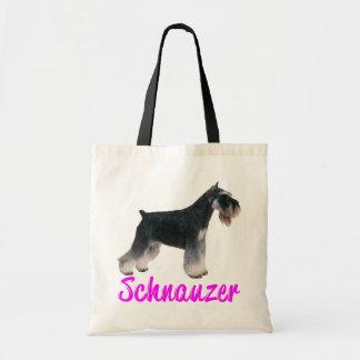 Love Miniature Schnauzer Dog Puppy Tote Bag