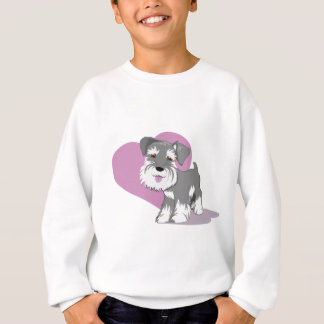 Love Miniature Schnauzer Puppy Shirt