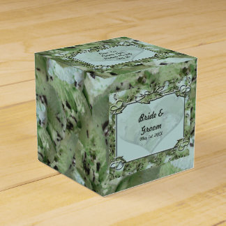 Love Mint Chips Wedding Party Favor Boxes