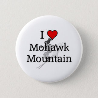 Love Mohawk Mountain 2 Inch Round Button