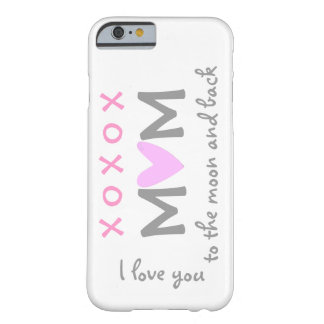 love mom to moon and back iPhone 6 case