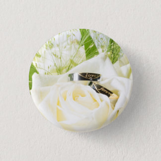 Love more forever 1 inch round button