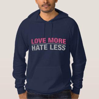 Love More Hate Less Hoodie