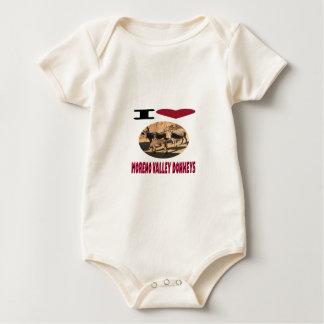 Love Moreno Valley Donkeys Baby Bodysuit