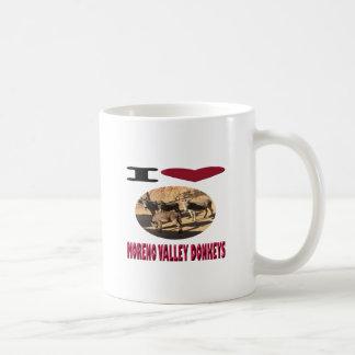 Love Moreno Valley Donkeys Coffee Mug