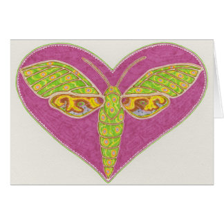Love Moth card