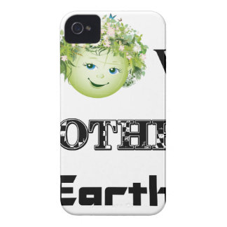 Love Mother Earth Case-Mate iPhone 4 Cases