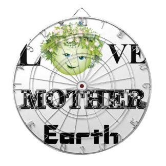 Love Mother Earth Dartboard