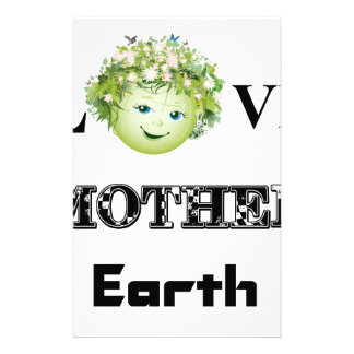 Love Mother Earth Stationery