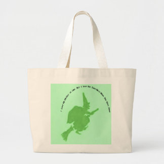 Love mother in law more when she goes home large tote bag