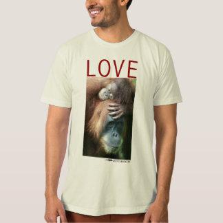 Love - Mother orangutan with baby T-Shirt