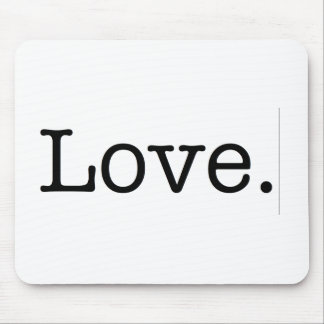 Love. Mouse Pad