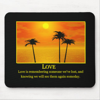 LOVE MP 2 MOUSE PAD