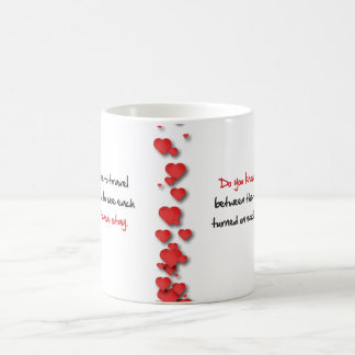 Love mug for couples in troubled relationship