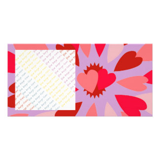 Love Mum Valentine Picture Card