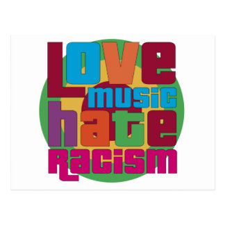 Love Music Hate Racism Postcard