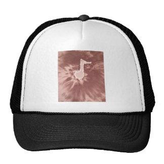 Love Music Note Tie Dye Trucker Hat