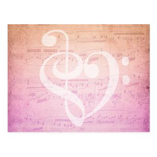 Love Music Postcard
