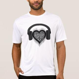 Love Music rhythm heart beat Men's T-Shirt
