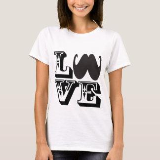 LOVE Mustache T-Shirt