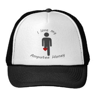 Love my Amputee Honey Trucker Hat
