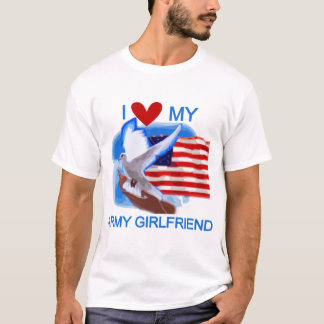 Love My Army Girlfriend T-shirts and Gifts