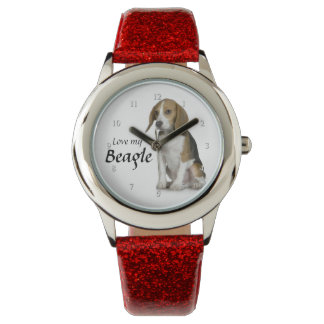 Love My Beagle Watch