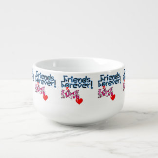 **LOVE MY BEST FRIEND FOREVER** MUG OR BOWL