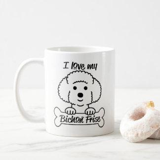 Love My Bichon Frise Mug