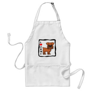 Love My Brussels Griffon Aprons