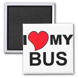 Love My Bus Magnet