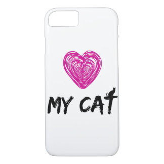 LOVE MY CAT iPhone 7 CASE