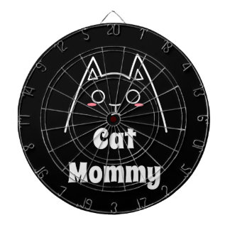 Love My Cat Mommy Dartboard