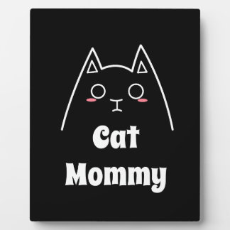 Love My Cat Mommy Plaque