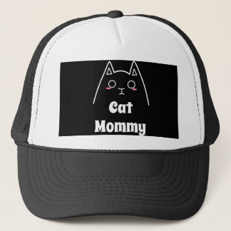 Love My Cat Mommy Trucker Hat