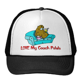 Love My Couch Potato Trucker Hat