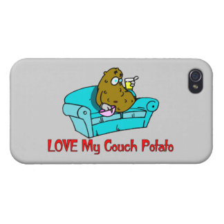 Love My Couch Potato iPhone 4/4S Case