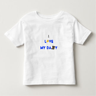 Love my Daddy Toddler T-shirt